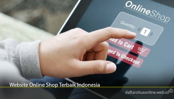 Website Online Shop Terbaik Indonesia